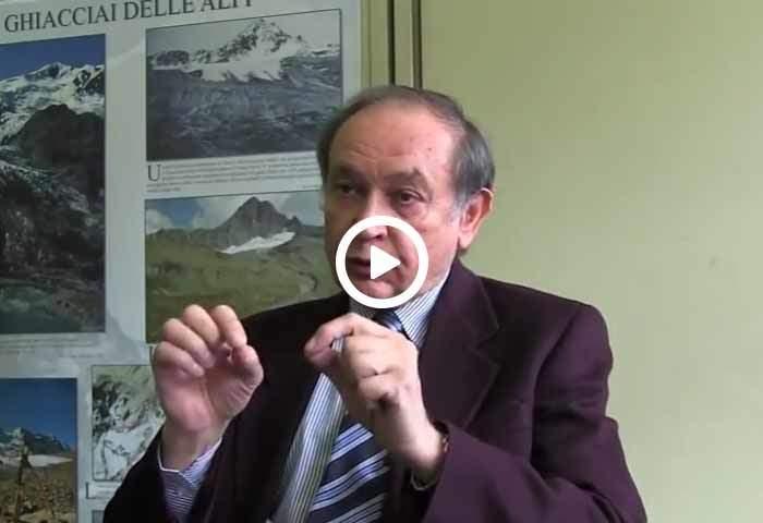 Claudio Smiraglia e l'esperimento di fusione nivoglaciale sul ghiacciaio Dosdè