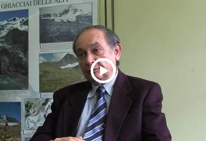 Claudio Smiraglia parla del ghiacciaio campione