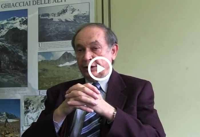 Claudio Smiraglia e il nuovo catasto dei ghiacciai italiani