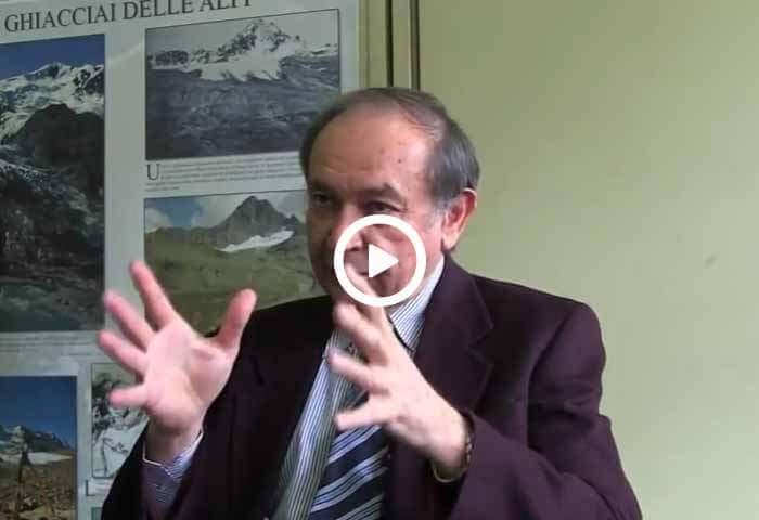 Claudio Smiraglia e il progetto di studio sul ghiacciaio Dosdè Piazzi